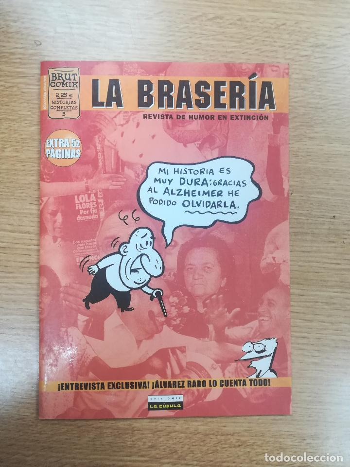 LA BRASERIA #3 (BRUT COMIX) (Tebeos y Comics - La Cúpula - Autores Españoles)