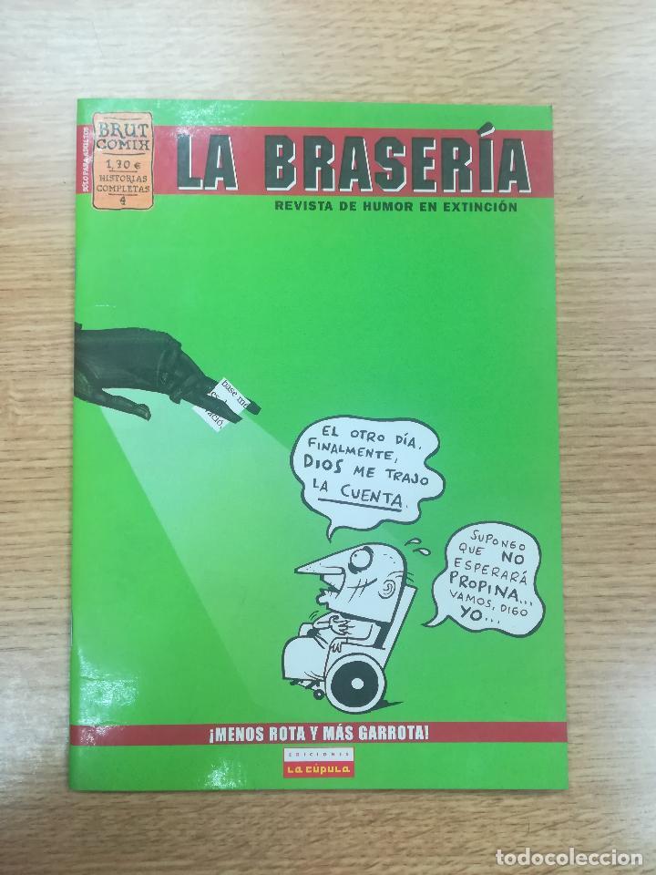 LA BRASERIA #4 (BRUT COMIX) (Tebeos y Comics - La Cúpula - Autores Españoles)