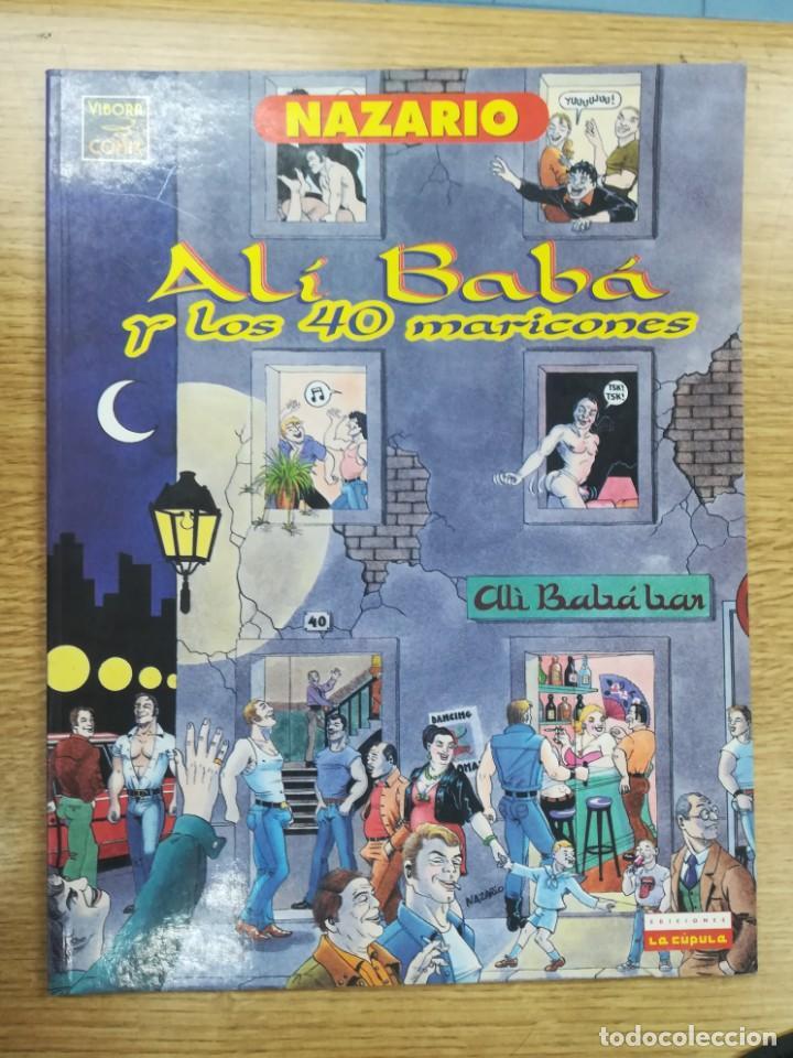 ALI BABA Y LOS 40 MARICONES (NAZARIO) (Tebeos y Comics - La Cúpula - Autores Españoles)