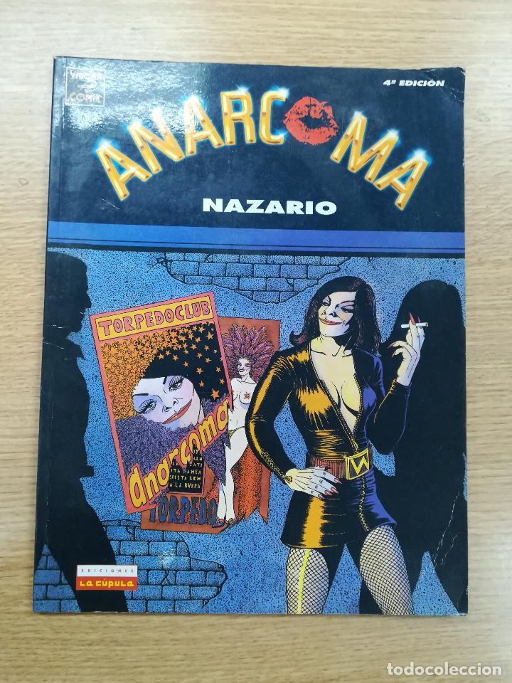 ANARCOMA 4ª EDICION (NAZARIO) (Tebeos y Comics - La Cúpula - Autores Españoles)