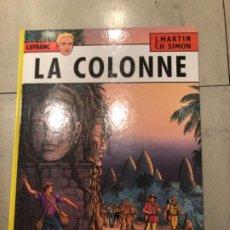 Cómics: LA COLONNE AVENTURAS LEFRANC. DE JACQUES MARTIN. Lote 194863331