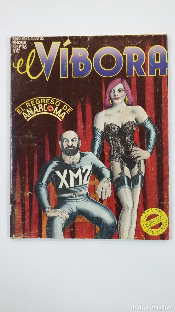 EL VIBORA Nº 67. COMIX PARA ADULTOS. EDICIONES LA CÚPULA. TDKC48 (Tebeos y Comics - La Cúpula - El Víbora)