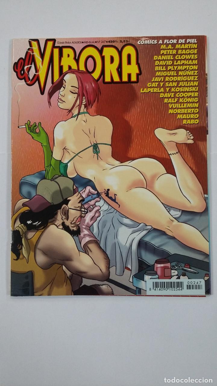 EL VIBORA Nº 247. COMIX PARA ADULTOS. EDICIONES LA CÚPULA. TDKC48 (Tebeos y Comics - La Cúpula - El Víbora)