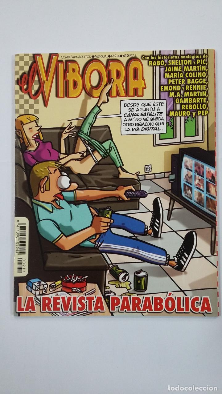 EL VIBORA Nº 214. COMIX PARA ADULTOS. EDICIONES LA CÚPULA. TDKC48 (Tebeos y Comics - La Cúpula - El Víbora)