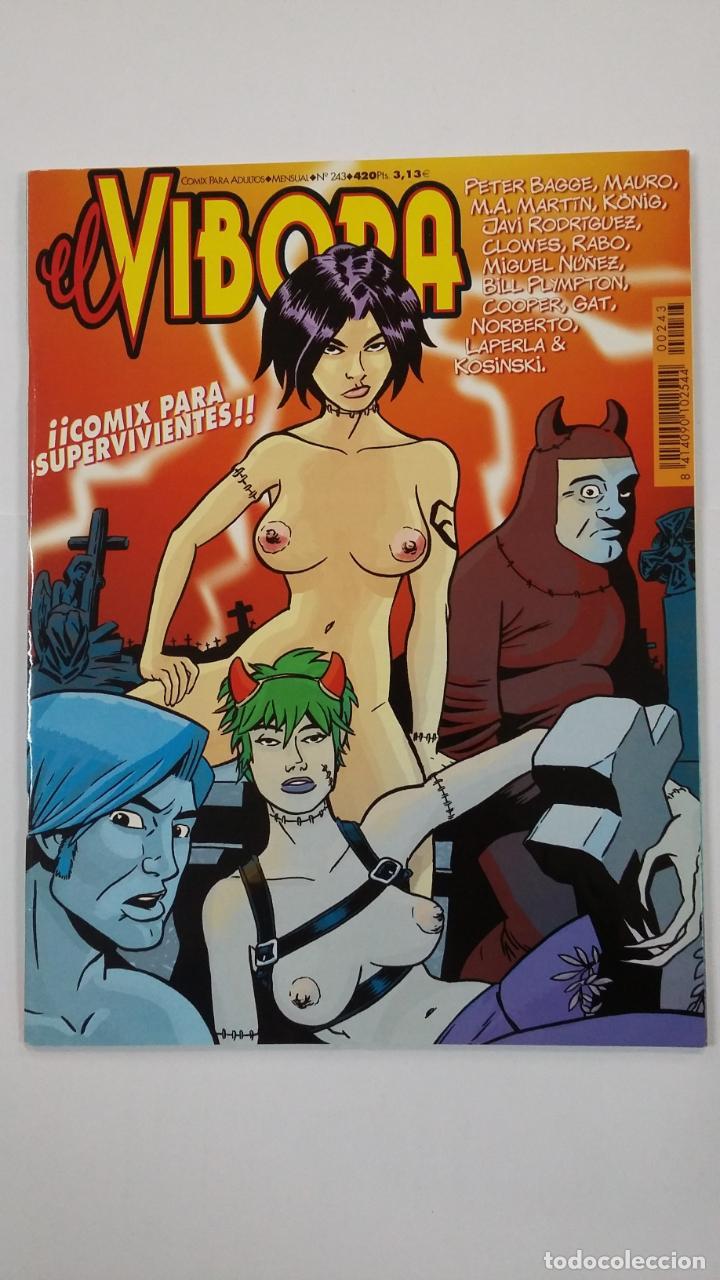 EL VIBORA Nº 243. COMIX PARA ADULTOS. EDICIONES LA CÚPULA. TDKC48 (Tebeos y Comics - La Cúpula - El Víbora)
