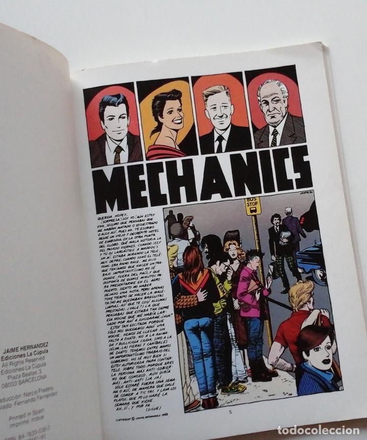 Cómics: Mechanics, de Jaime Hernandez. Album a color, La Cúpula. Genial - Foto 2 - 195063797