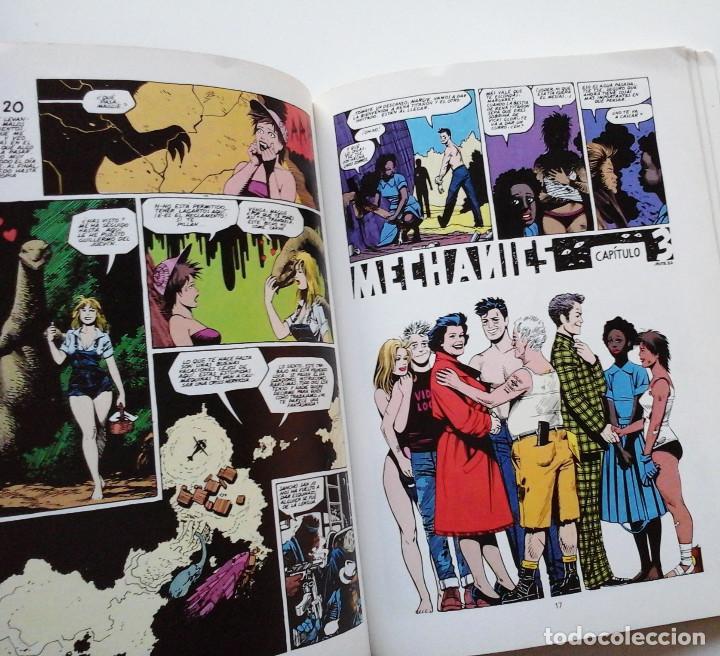 Cómics: Mechanics, de Jaime Hernandez. Album a color, La Cúpula. Genial - Foto 3 - 195063797