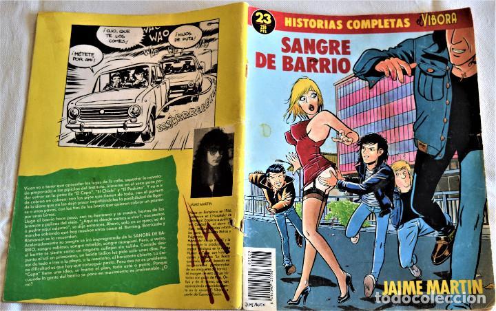 Cómics: EL VIBORA Nº 23 - SANCRE DE BARRIO - POR JAIME MARTIN - TAPA BLANDA - Foto 2 - 195277965
