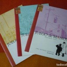 Cómics: JUEGO DE MANOS NºS 1, 2 Y 3 ¡COMPLETA! ( JASON LUTES ) ¡MUY BUEN ESTADO! BRUT COMIX. Lote 195302272
