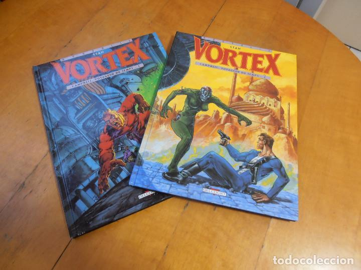 COMIC STAN VORTEX VOYAGEUR DU TEMPS 1 Y 2 DELCOURT (Tebeos y Comics - La Cúpula - Comic Europeo)
