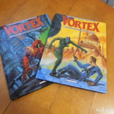 Cómics: COMIC STAN VORTEX VOYAGEUR DU TEMPS 1 Y 2 DELCOURT . Lote 195333341