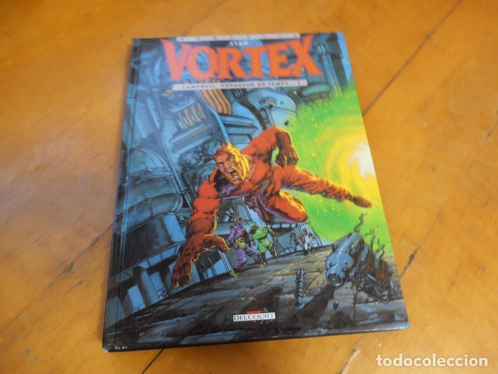 Cómics: COMIC STAN VORTEX VOYAGEUR DU TEMPS 1 Y 2 DELCOURT - Foto 3 - 195333341