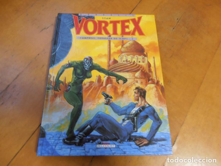 Cómics: COMIC STAN VORTEX VOYAGEUR DU TEMPS 1 Y 2 DELCOURT - Foto 4 - 195333341