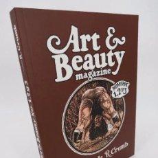 Cómics: ART AND BEAUTY MAGAZINE NÚMEROS 1, 2 Y 3 EN UN TOMO (ROBERT CRUMB) LA CÚPULA, 2017. Lote 195352303