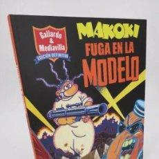 Cómics: MAKOKI, FUGA EN LA MODELO. EDICIÓN DEFINITIVA (MIGUEL GALLARDO) LA CÚPULA, 2017. Lote 195352998