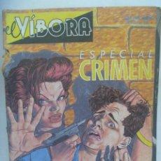 Cómics: EL VIBORA , Nº ESPECIAL CRIMEN. Lote 196349095