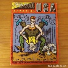 Cómics: EL VIBORA ESPECIAL USA CRUMB, SHELTON, SPAIN, SPIEGELMAN, WILSON, KURTZMAN... LA CUPULA. Lote 196723552