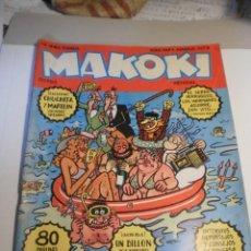 Cómics: MAKOKI Nº 7-8. SÓLO PARA ADULTOS. NÚMERO DOBLE. ESPECIAL VACACIONES (ESTADO NORMAL). Lote 197032075