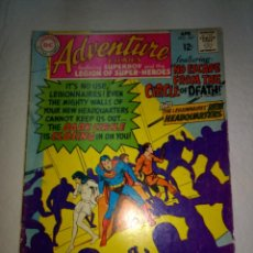 Cómics: ADVENTURE COMICS LEGION OF SUPER-HEROES Nº367 - 1968 12Ç - DC COMICS - ORIGINAL. Lote 197232803