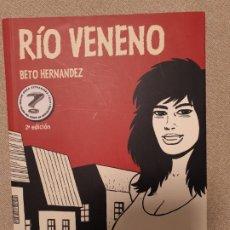 Cómics: RÍO VENENO. BETO HERNANDEZ. Lote 197965990