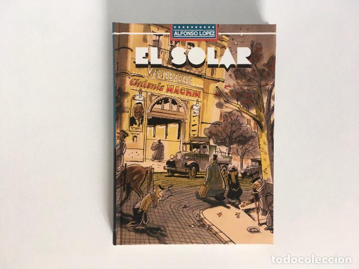 EL SOLAR DE ALFONSO LÓPEZ. LA CÚPULA. (Tebeos y Comics - La Cúpula - Autores Españoles)
