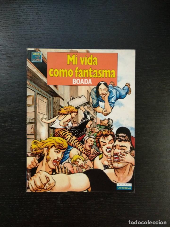 MI VIDA COMO FANTASMA (Tebeos y Comics - La Cúpula - Autores Españoles)