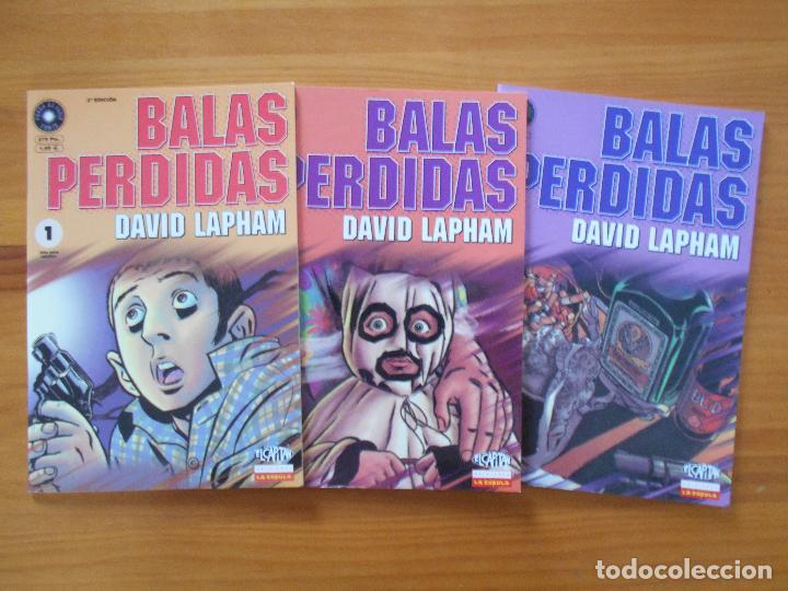 Cómics: BALAS PERDIDAS - NUMEROS 1 A 13 - DAVID LAPHAM - LA CUPULA - NUEVO (BF) - Foto 2 - 226234725