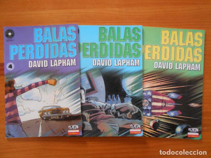 Cómics: BALAS PERDIDAS - NUMEROS 1 A 13 - DAVID LAPHAM - LA CUPULA - NUEVO (BF) - Foto 3 - 226234725