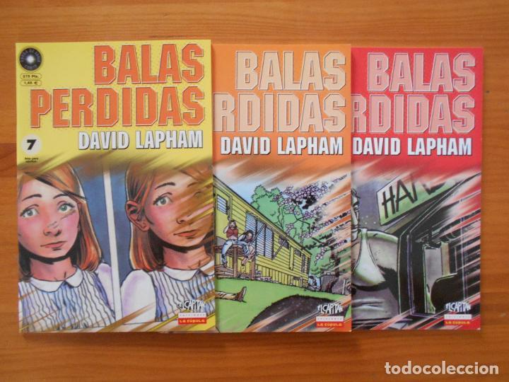 Cómics: BALAS PERDIDAS - NUMEROS 1 A 13 - DAVID LAPHAM - LA CUPULA - NUEVO (BF) - Foto 4 - 226234725