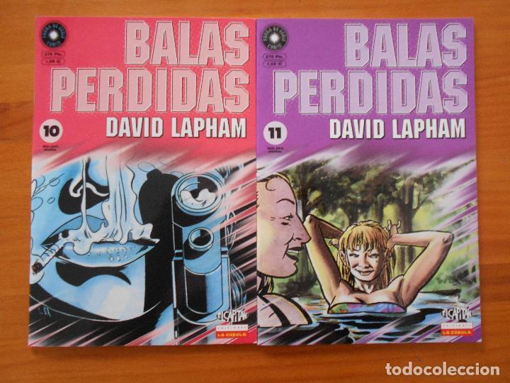 Cómics: BALAS PERDIDAS - NUMEROS 1 A 13 - DAVID LAPHAM - LA CUPULA - NUEVO (BF) - Foto 5 - 226234725