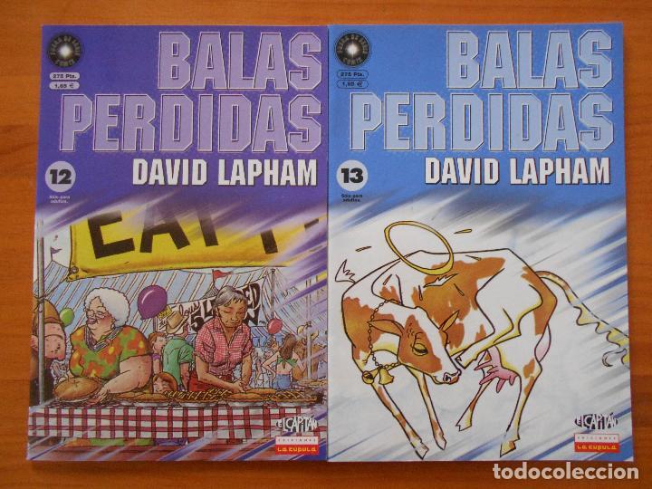 Cómics: BALAS PERDIDAS - NUMEROS 1 A 13 - DAVID LAPHAM - LA CUPULA - NUEVO (BF) - Foto 6 - 226234725