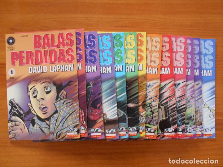 BALAS PERDIDAS - NUMEROS 1 A 13 - DAVID LAPHAM - LA CUPULA - NUEVO (BF) (Tebeos y Comics - La Cúpula - Comic USA)