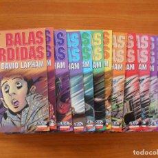 Cómics: BALAS PERDIDAS - NUMEROS 1 A 13 - DAVID LAPHAM - LA CUPULA - NUEVO (BF). Lote 226234725