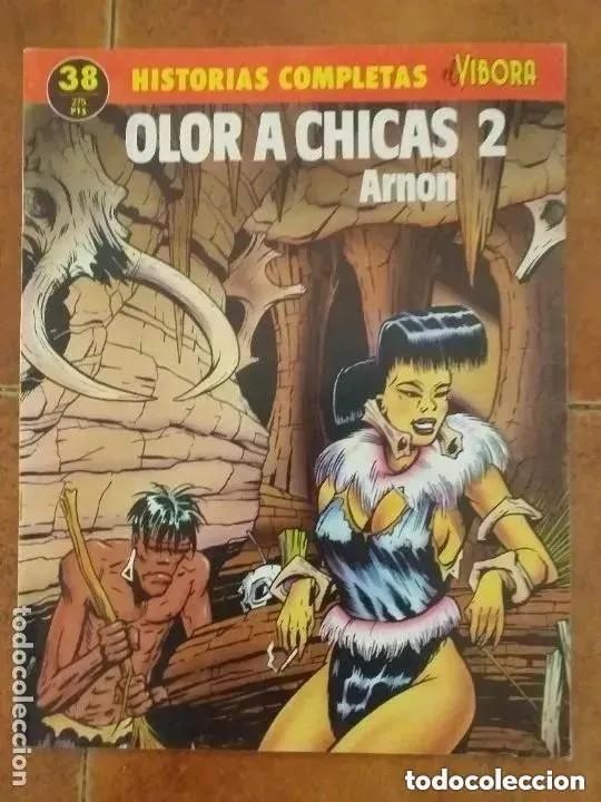 OLOR A CHICAS 2. ARNON. HISTORIAS COMPLETAS EL VIBORA 38 (Tebeos y Comics - La Cúpula - El Víbora)