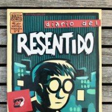 Cómics: DIARIO DEL RESENTIDO Nº 4 (DE 4), AUTOR, JUACO VIZUETE. EDICIONES LA CÚPULA AÑO 1998.. Lote 184917411
