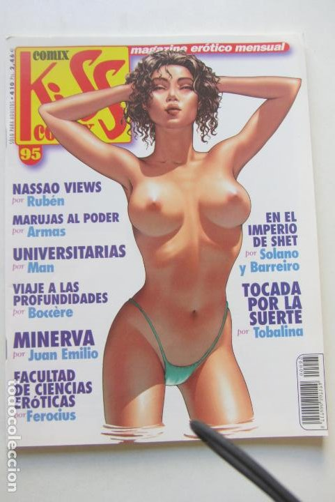 KISS COMIX Nº 95 MAGAZINE EROTICO LA CUPULA MUCHOS MAS A LA VENTA MIRA TUS FALTAS CX49 (Tebeos y Comics - La Cúpula - Comic Europeo)