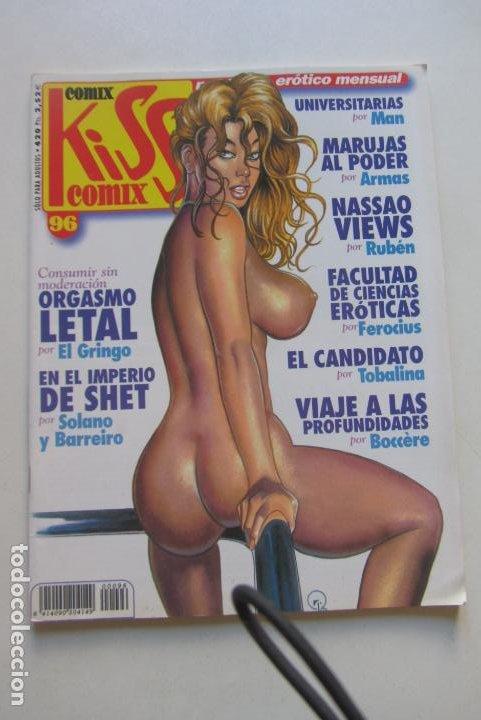 KISS COMIX Nº 96 MAGAZINE EROTICO LA CUPULA MUCHOS MAS A LA VENTA MIRA TUS FALTAS CX49 (Tebeos y Comics - La Cúpula - Comic Europeo)