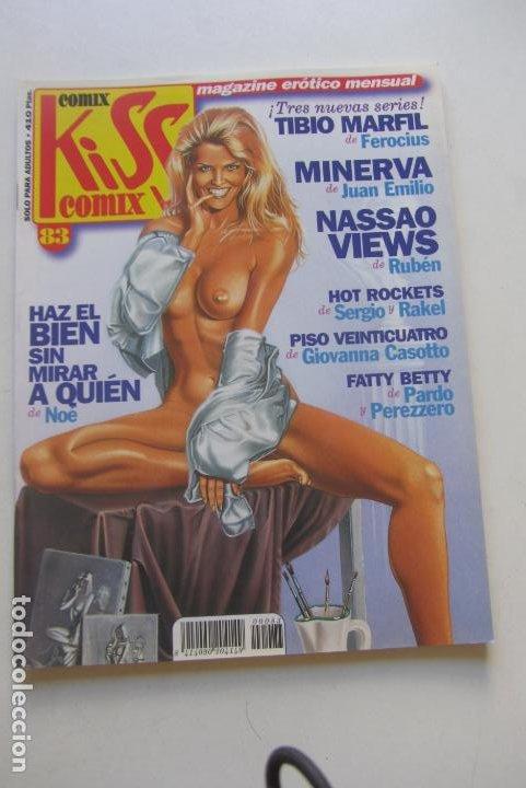 KISS COMIX Nº 83 MAGAZINE EROTICO LA CUPULA MUCHOS MAS A LA VENTA MIRA TUS FALTAS CX49 (Tebeos y Comics - La Cúpula - Comic Europeo)