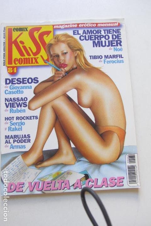 KISS COMIX Nº 84 MAGAZINE EROTICO LA CUPULA MUCHOS MAS A LA VENTA MIRA TUS FALTAS CX49 (Tebeos y Comics - La Cúpula - Comic Europeo)