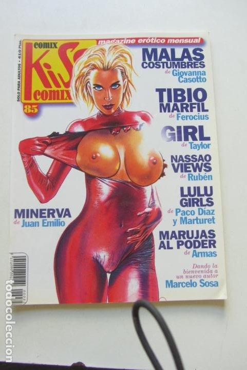KISS COMIX Nº 85 MAGAZINE EROTICO LA CUPULA MUCHOS MAS A LA VENTA MIRA TUS FALTAS CX49 (Tebeos y Comics - La Cúpula - Comic Europeo)