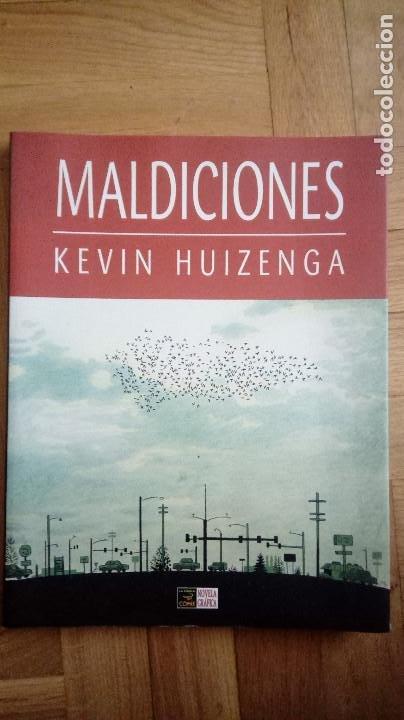 MALDICIONES - KEVIN HUIZENGA - NOVELA GRÁFICA ED. LA CÚPULA 2007 (Tebeos y Comics - La Cúpula - Comic USA)