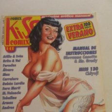 Fumetti: KISS COMIX Nº 141 MAGAZINE EROTICO LA CUPULA MUCHOS MAS A LA VENTA MIRA TUS FALTAS C50. Lote 199459607