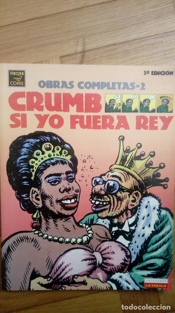CRUMB OBRAS COMPLETAS-2: SI YO FUERA REY (LA CÚPULA) (Tebeos y Comics - La Cúpula - Comic USA)