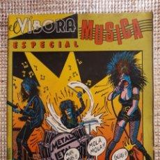 Fumetti: EL VIBORA : ESPECIAL MUSICA. Lote 199684830