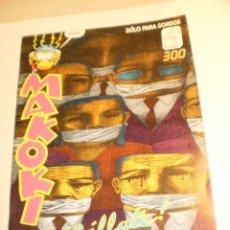 Cómics: MAKOKI 1991 SÓLO PARA SORDOS ¡CÁLLATE! (SEMINUEVO). Lote 199926875