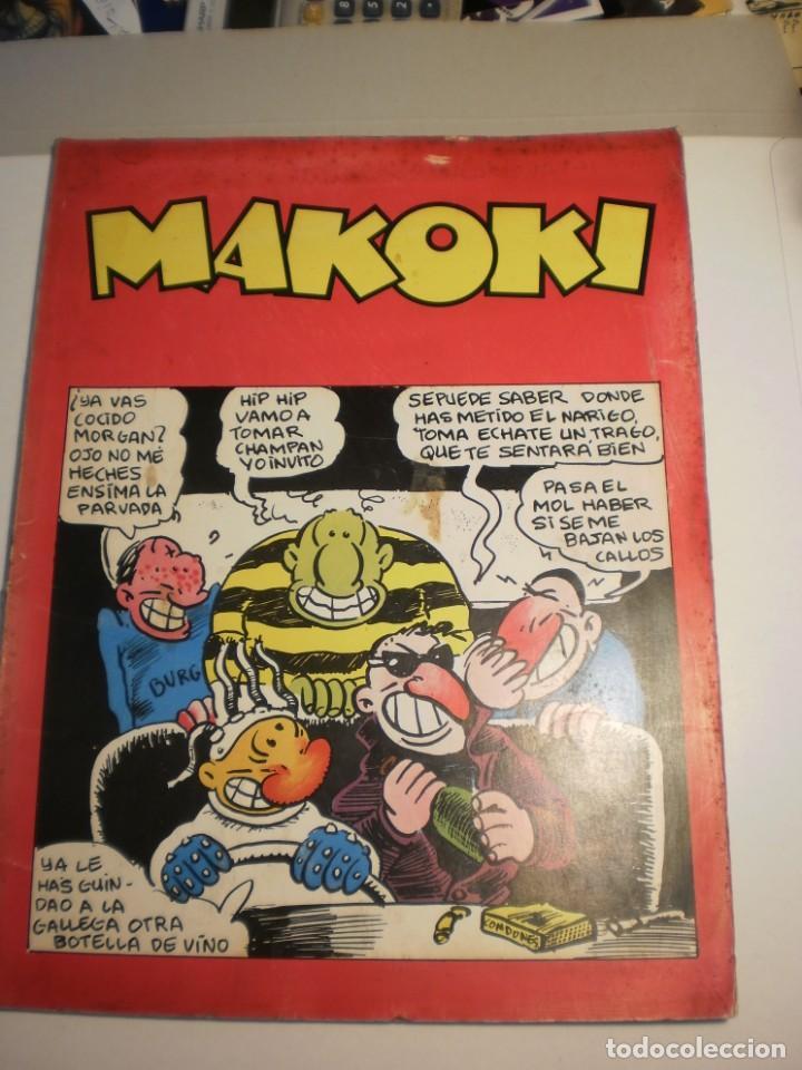 LAS AVENTURAS DE MAKOKI. LAERTES 1979. GALLARDO, MEDIAVILLA. BORRAYO (ESTADO NORMAL. LEER) (Tebeos y Comics - La Cúpula - Autores Españoles)