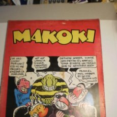 Cómics: LAS AVENTURAS DE MAKOKI. LAERTES 1979. GALLARDO, MEDIAVILLA. BORRAYO (ESTADO NORMAL. LEER). Lote 200052937