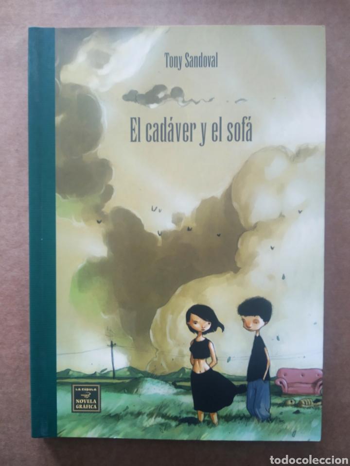 EL CADÁVER Y EL SOFÁ, POR TONY SANDOVAL (LA CÚPULA, 2007). (Tebeos y Comics - La Cúpula - Autores Españoles)