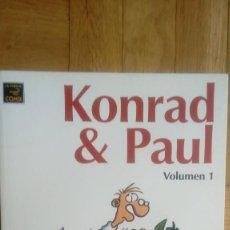 Cómics: KONRAD & PAUL VOLUMEN 1 - RALF KONIG - TAPA BLANDA. Lote 201217722