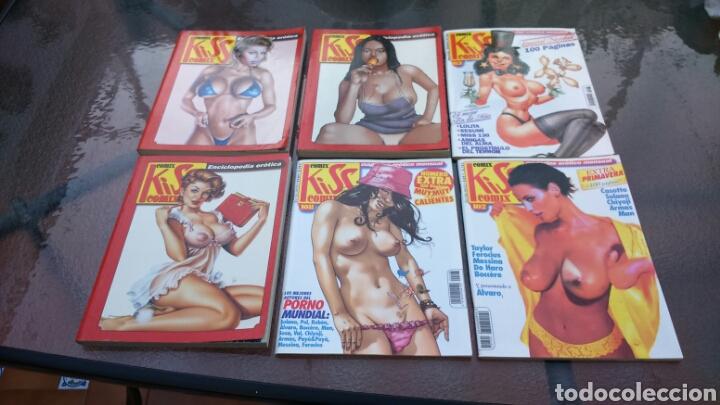 COMIX KISS LOTE 3 RETAPADOS Y 3 GRAPAS (Tebeos y Comics - La Cúpula - Autores Españoles)